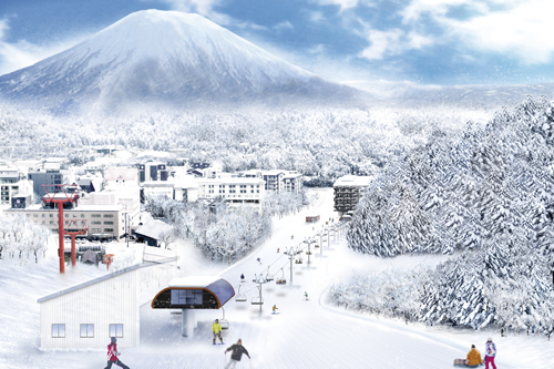 Niseko Grand Hirafu Ace Family Pair Lift Upgrade 2