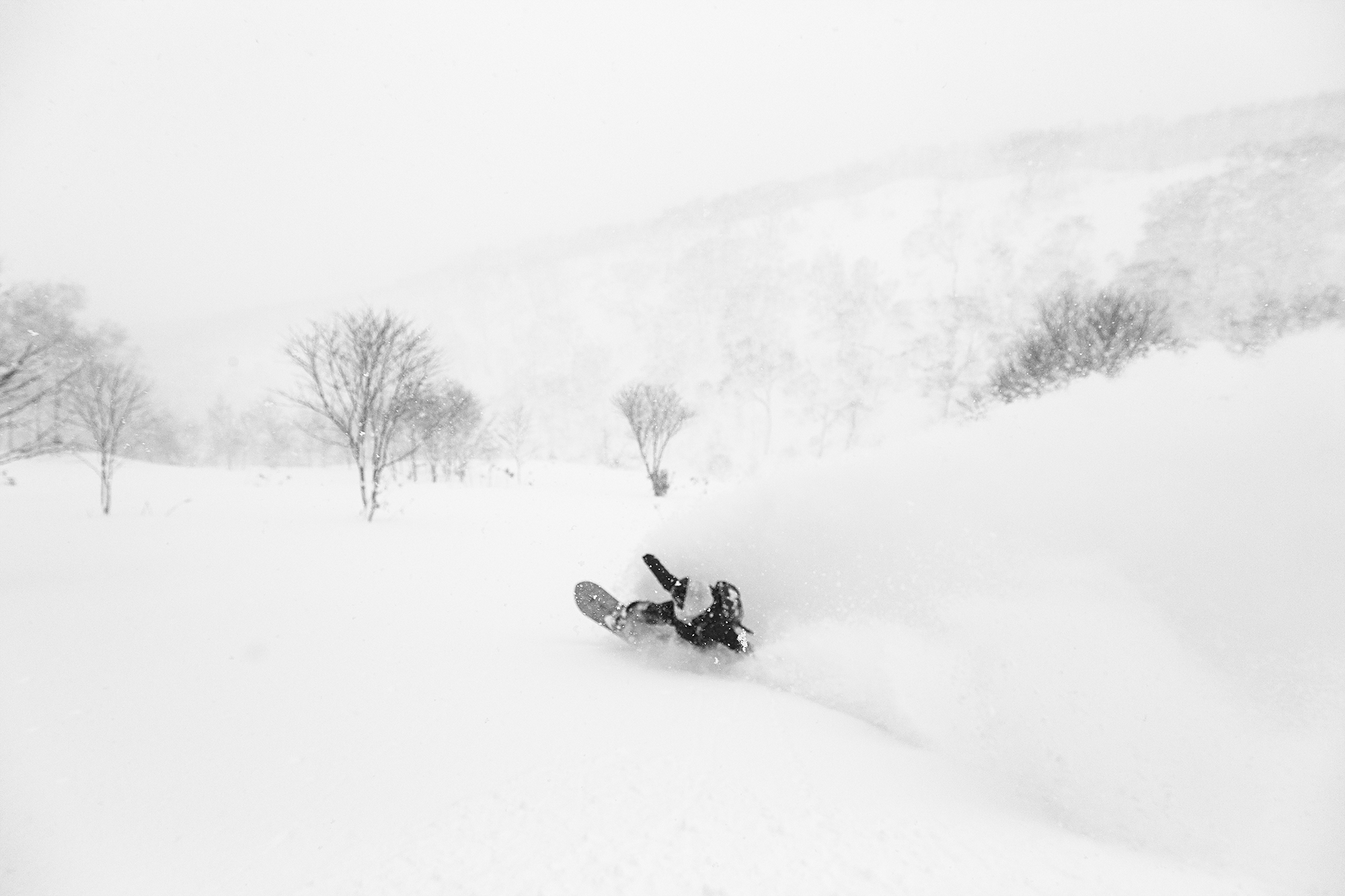 The House Of Powder In The Backcountry With Jenny Jones 4 Black And White