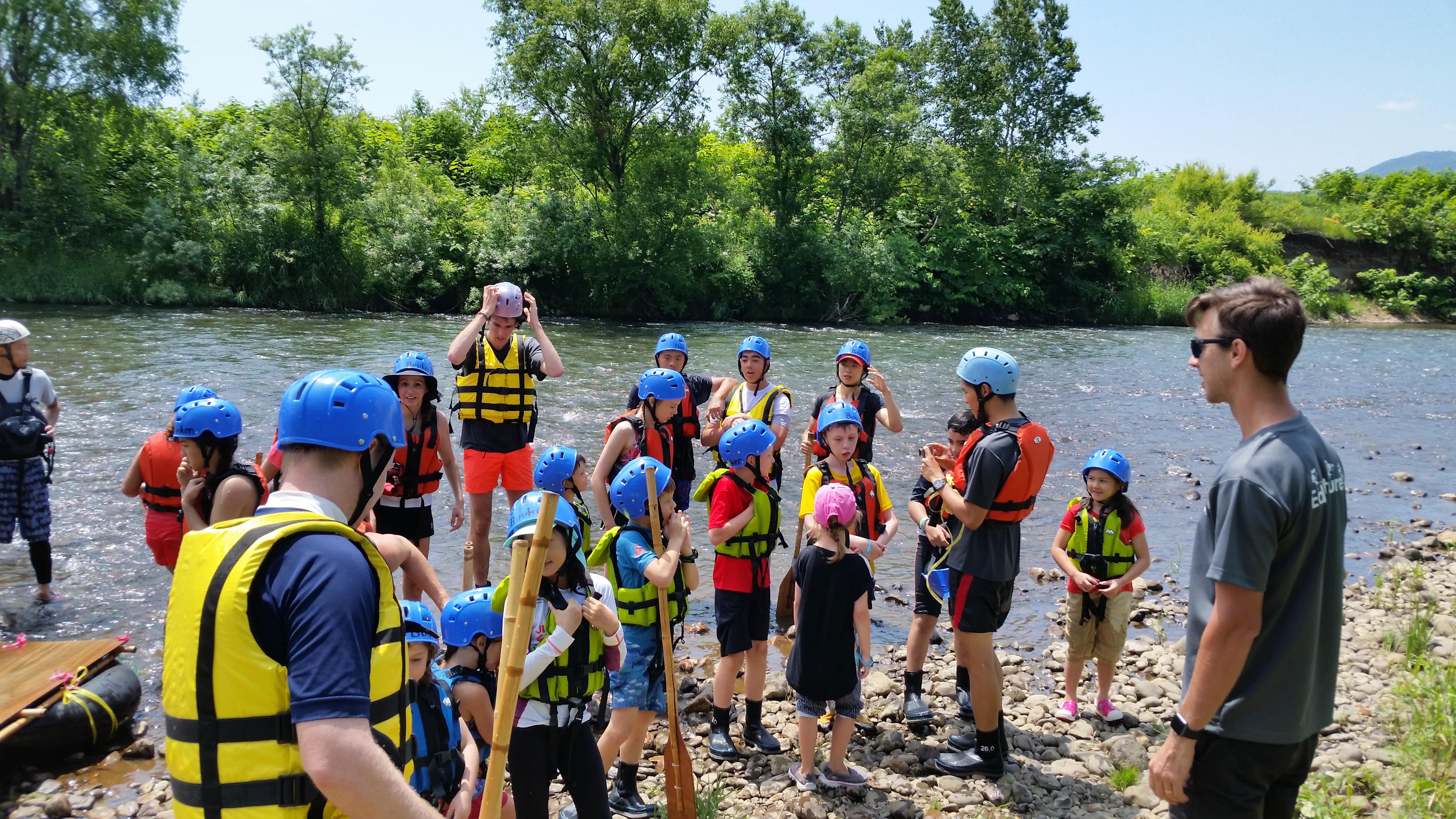Tim King Edventure Rafting Shiribeshi Bouken