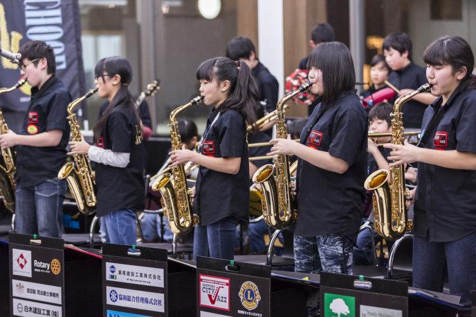 ACO jazz players