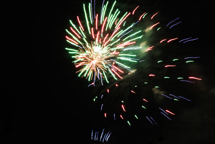 Fireworks New Year's Eve 2018