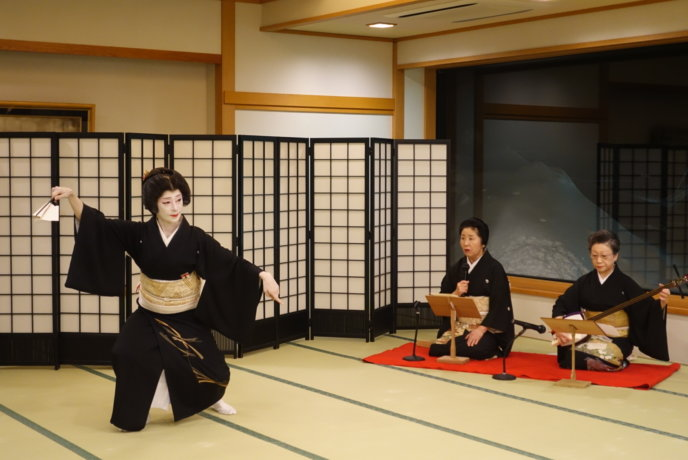 Geisha Experience In Otaru Jan 25Th 20172