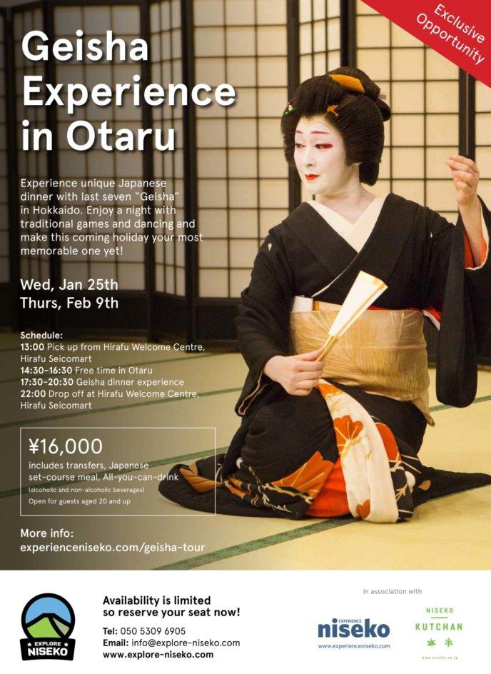 Geisha Experience In Otaru