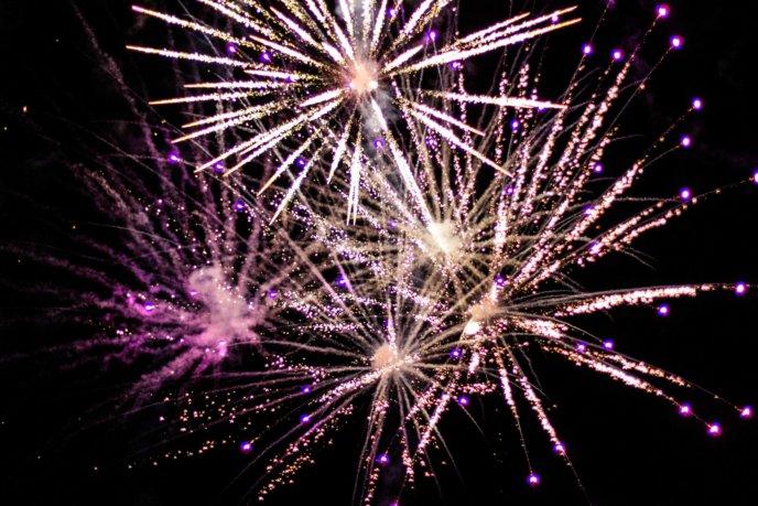 Hirafu Matsuri Summer 2017 Evening Events 5118 Firework Fireworks