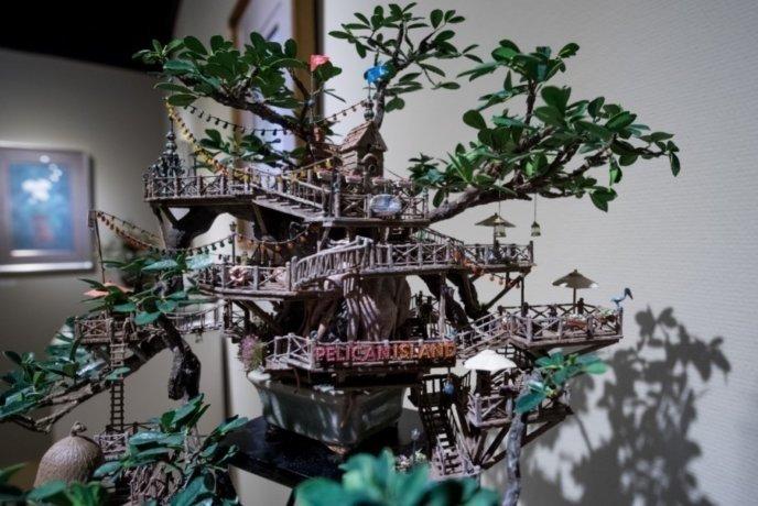 Kiyoe Gallery Sample Art On Display