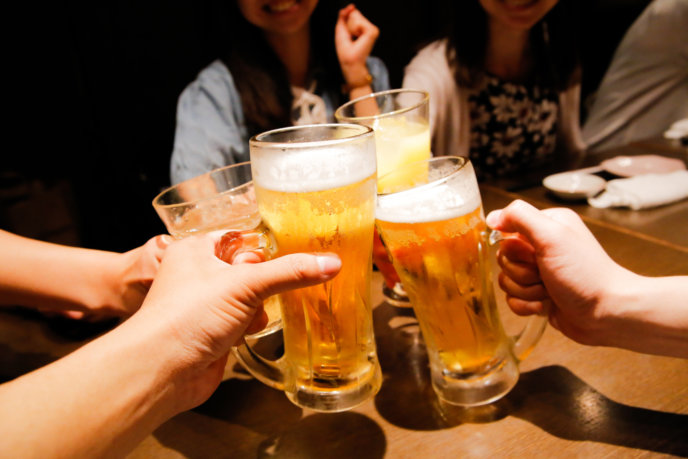 Beer at Kumo Restaurant