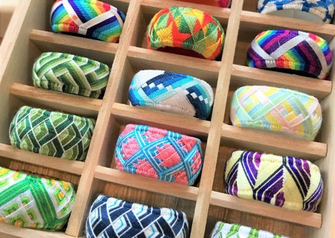Mayura Traditional Silk Made Thimbles 7
