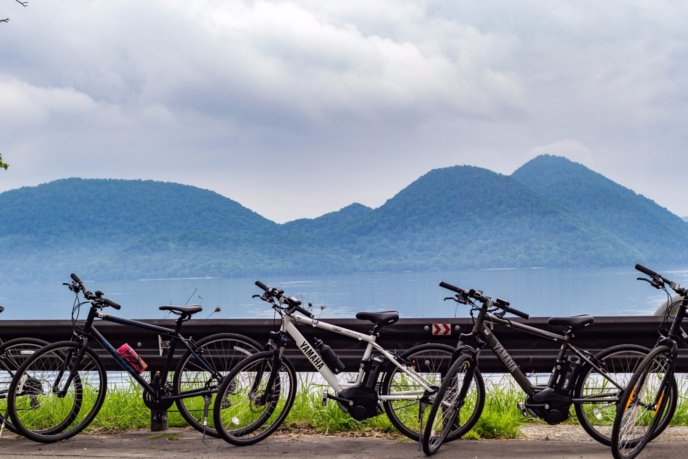 Rhythm Bike Tour At Lake Toya Summer 2017 Bicycle Cycling 13