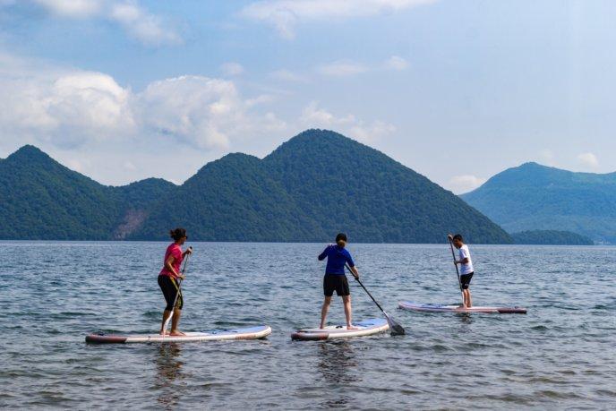 Rhythm Sup Tour At Lake Toya Summer 2017 11
