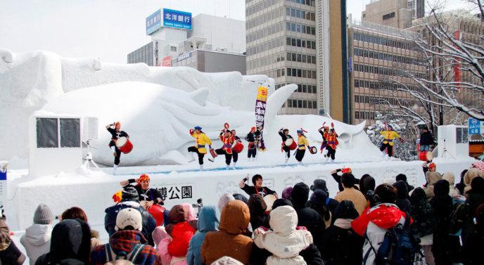 Sapporo Snow Festival Crop