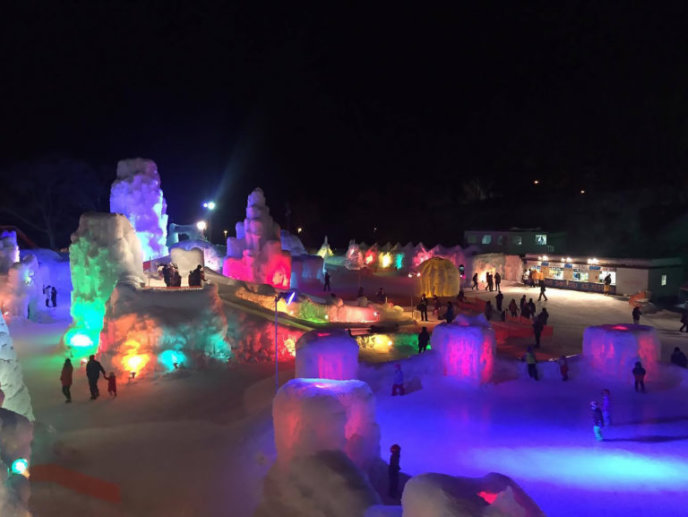 Shikotsu Ice Festival 201713 180104 144738