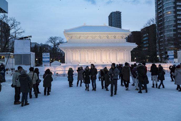 Snow Festival Sapporo Kohfuku Ji Temple 2017 02 06 0121