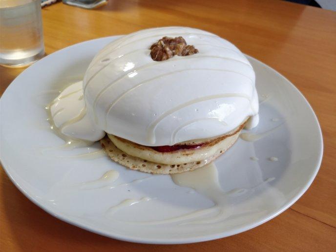 Strawberry Salt Condensed Milk Pancake Za Hot Cake 3