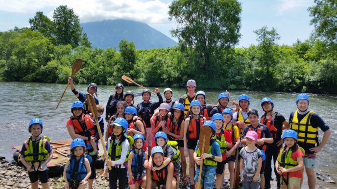 Summer Rafting With Bouken Kazoku And Edventure