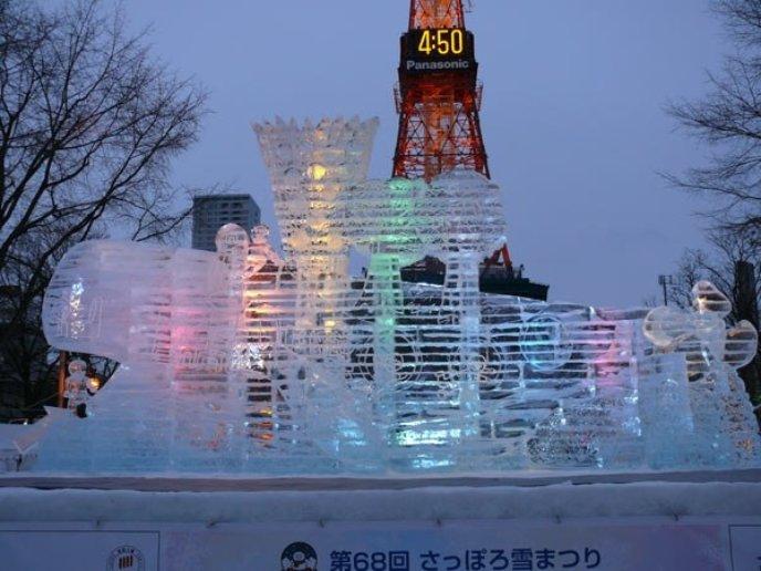 The Whale House C The Hokkaido Shinbun Press Sapporo Snow Festival 2017 Image Credit Snowfes