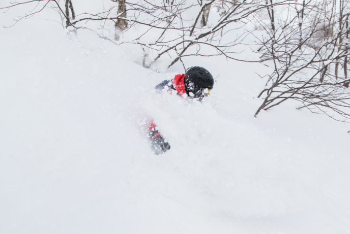 Winter Snow Pow 01 31 18