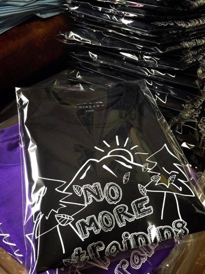 Yuichi Hasegawa Making Niseko T-shirts 2