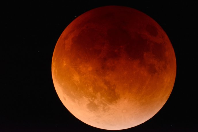 Lunar Eclipse Red Moon 2146596