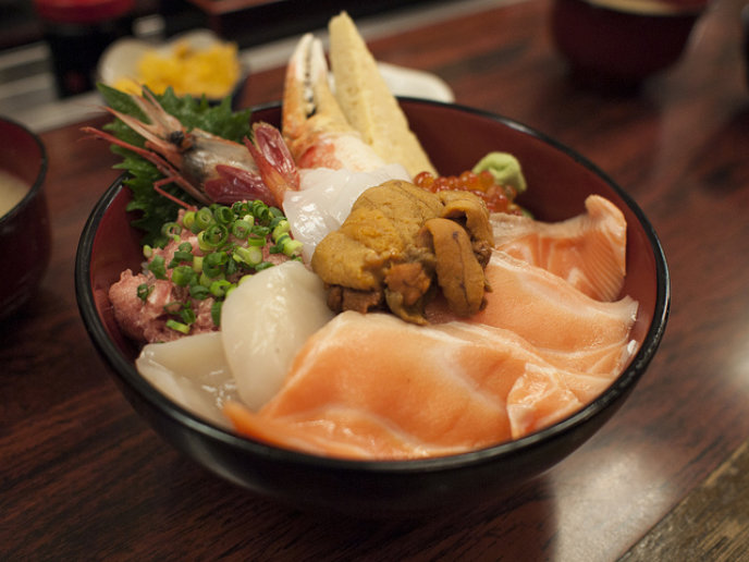 Niseko Donburi breakfast