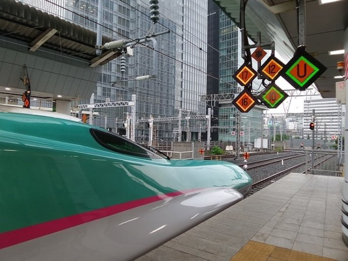 Shinkansen Hayabusa