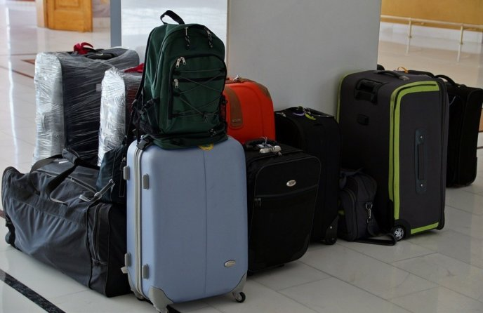 Stock Image Pixabay Luggage Airport