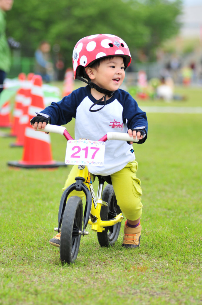 Strider Event Single Rider Yellow Bike