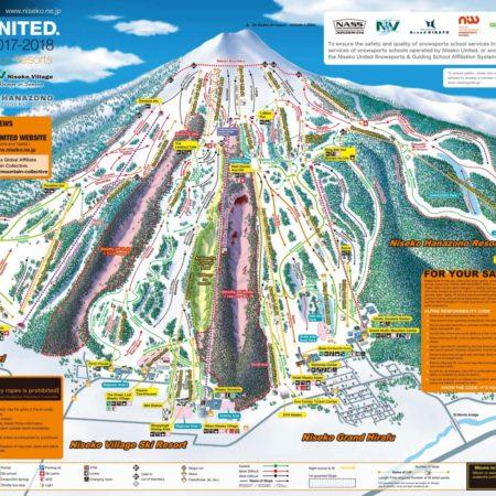 Niseko United Trail Map 2017/18