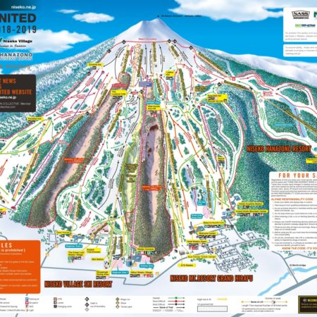 Niseko United Trail Map 2018/19