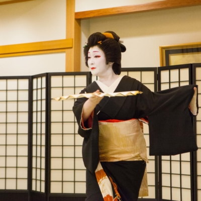 ​Geisha performing.