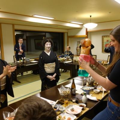 Geisha Experience In Otaru Jan 25Th 201710