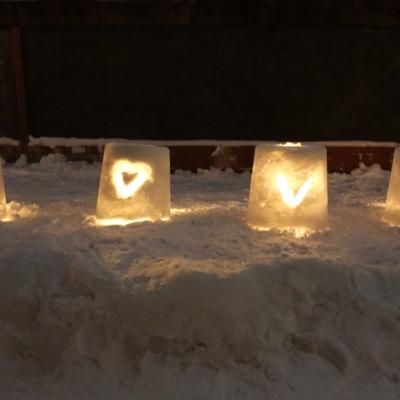 Otaru Snow Light Path 2017 A Little Love