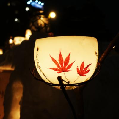 Otaru Snow Light Path 2017 Japanese Maple Lanterns