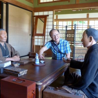 Tsung Chung Kao Visiting Museums