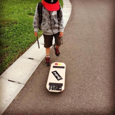 Ed Venture Summer 2016 Skateboard Making
