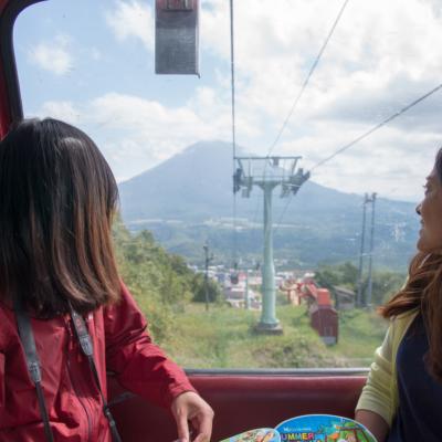 Hirafu Summer Gondola View