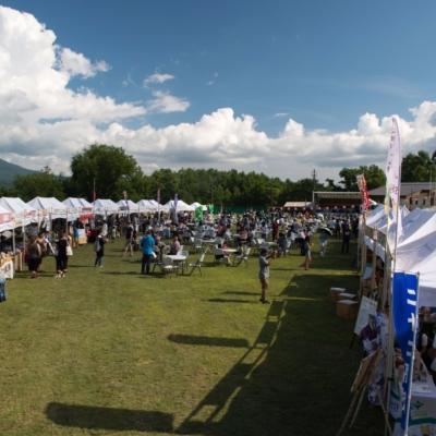 Hirafu Festival Matsuri 2017 Food Stalls Daytime