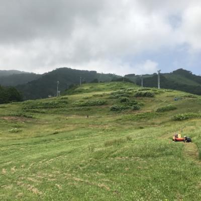 Hirafu Flow Trail Under Construction Summer July 2017 1