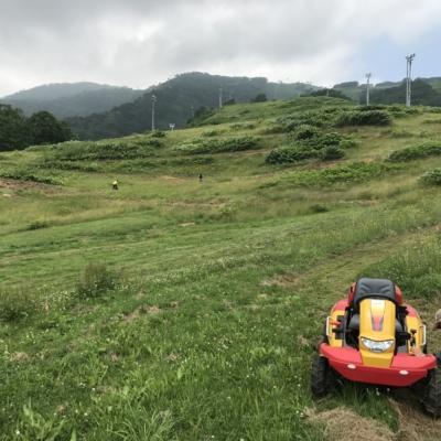 Hirafu Flow Trail Under Construction Summer July 2017 2