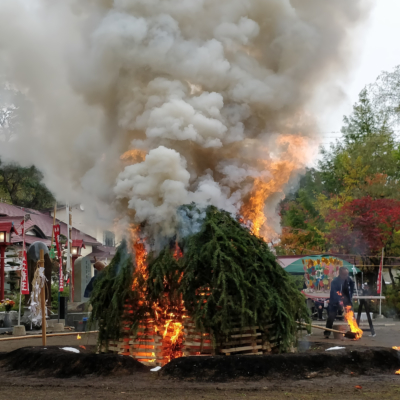 Konpira Matsuri Fire 2018 4