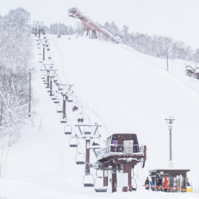 Kutchan Town Yukitopia 2017 Asahigaoka Ski Slopes And Lift
