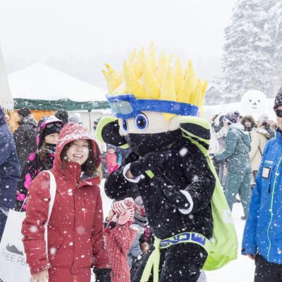 Kutchan Town Yukitopia 2017 Go Snow Ninja Kid 2