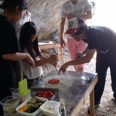 Making Pizzas At Niseko Green Farm With Fresh Picked Organic Vegetables
