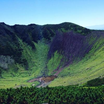 Mt Yotei Crater