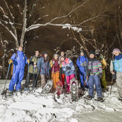Nac Snowshoeing Niseko Night Snowshoe 4