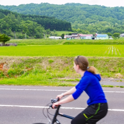 Rhythm Bike Tour At Lake Toya Summer 2017 Bicycle Cycling 3