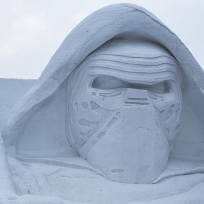 Snow Festival Sapporo Star Wars Statue Kylo Ren 2017 02 06 0111