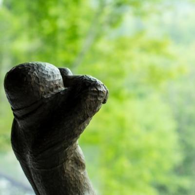 Somoza Gallery Statue