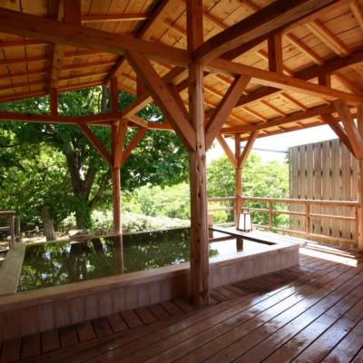 Weiss Hotel Onsen Outdoor Rotenburo Pool Summer 5