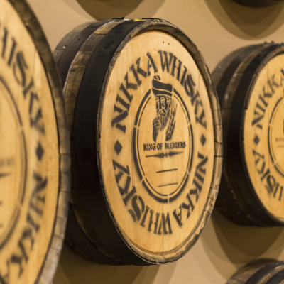 Yoichi Distillery Nikka Whiskey Casks 1