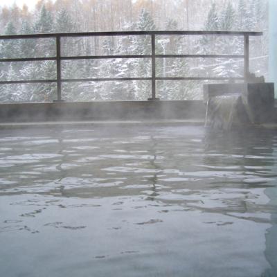 Hirafutei Onsen Snowy Outdoor Rotenburo